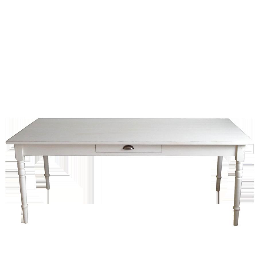 Retro Koksbord : Koksbord  Maison  Vintage White  90 x 180 cm fron Miljogorden